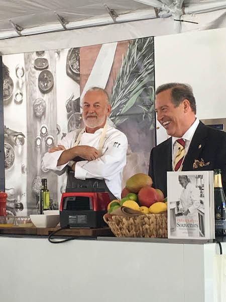 Chef Hubert Keller, Master Sommelier Peter Neptune | ShesCookin.com