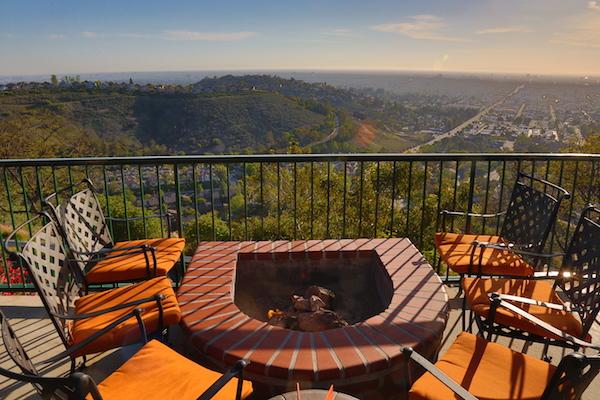 View from Orange Hill restaurant