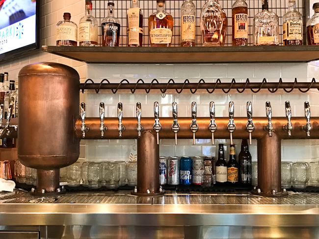 Bar at Lillie's Q, Brea | ShesCookin.com