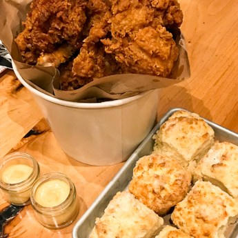 Fried Chicken Sunday Supper Every Day at Lillie's Q