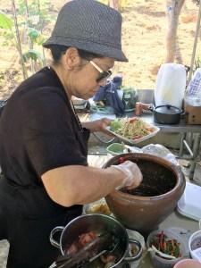 Making Thai Green Papaya Salad | ShesCookin.com