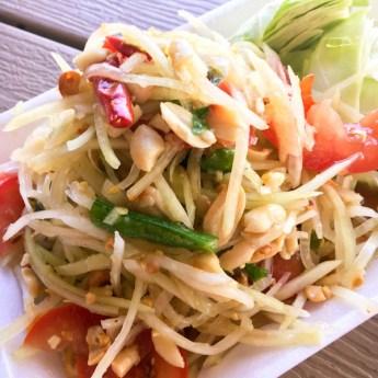 Thai Green Papaya Salad | ShesCookin.com