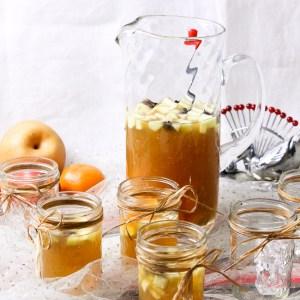 Bourbon Apple Cider Fruit Punch   ShesCookin.com