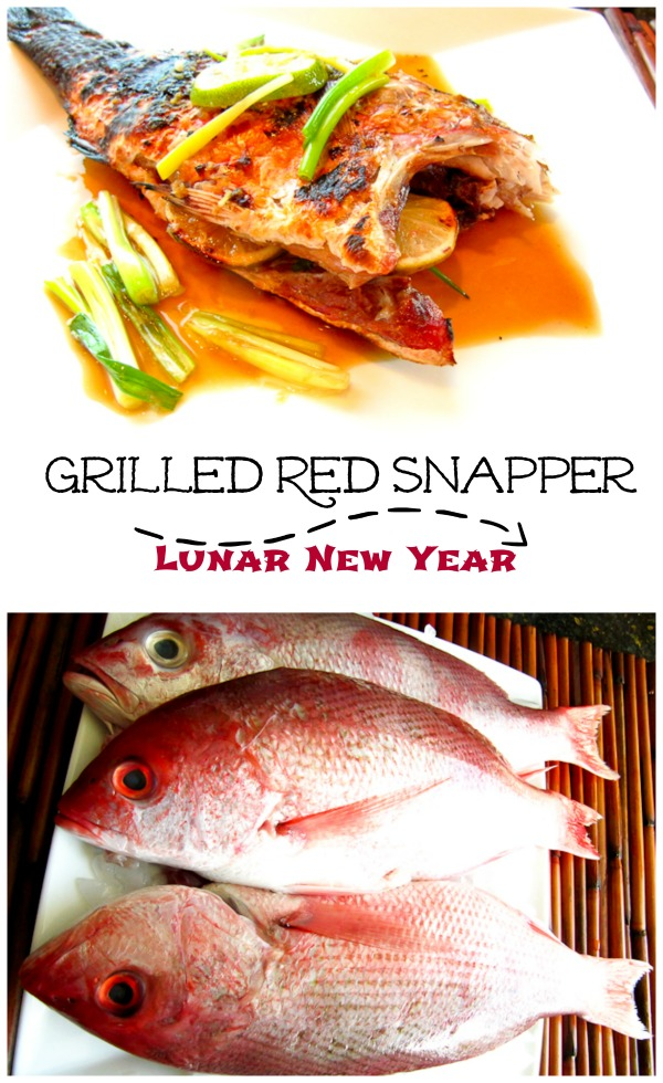 Grilled Red Snapper, Chinese New Year