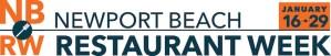 Newport Beach Restaurant Week 2017 banner