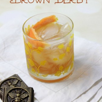 The Classic Brown Derby Cocktail