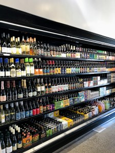 The Butchery wide selection of wine and craft beer