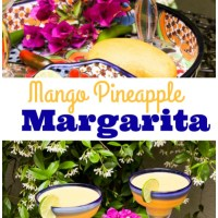 Beach Cocktails + a Frosty Mango Pineapple Margarita for Cinco de Mayo
