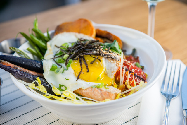 California Bibimbap Bowl, Provenance | ShesCookin.com