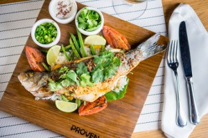 Seared Whole Branzino, Provenance | ShesCookin.com