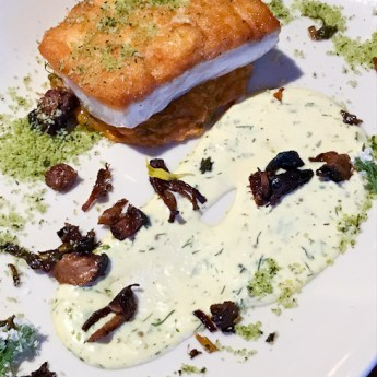 Local Halibut Catch of the Day - Lido Bottle Works | ShesCookin.com