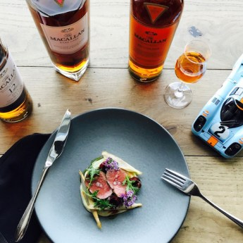Restaurant 917 Entices with a Porsche and Macallan Whiskey Dinner