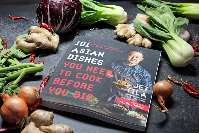 Jet Tila - 101 Asian Dishes | ShesCookin.com