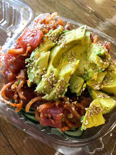 North Shore Poke | Priscilla Willis - ShesCookin.com