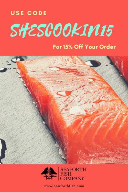 Wild Salmon 15% coupon, Seaforth Fish Company