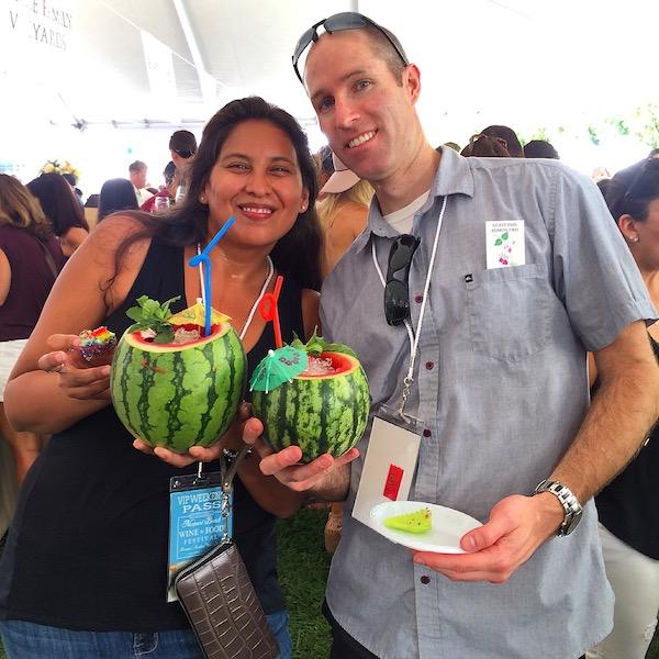 Cruzan Rum Watermelon Cocktail_NBWFF 2015