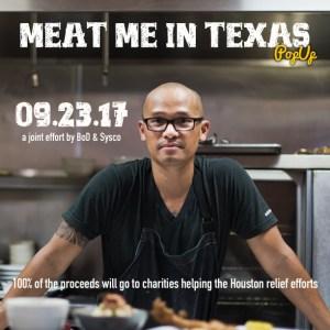 Chef Dee Nguyen, Break of Dawn, Meat Me in Texas fundraiser