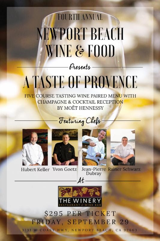 Newport Beach Wine and Food Festival 2017 | A Taste of Provence