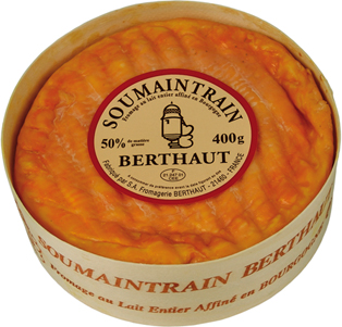 Soumaintrain cheese from France