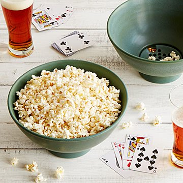 Gift Guide - Popcorn Bowl with Kernal Sifter
