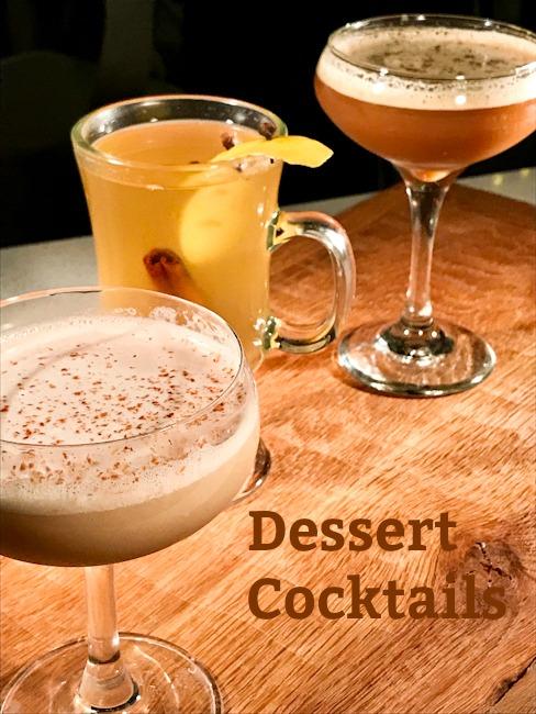 Dessert Cocktails | Bourbon Banana Peanut Butter Milkshake, Espresso Martini, Hot Toddy