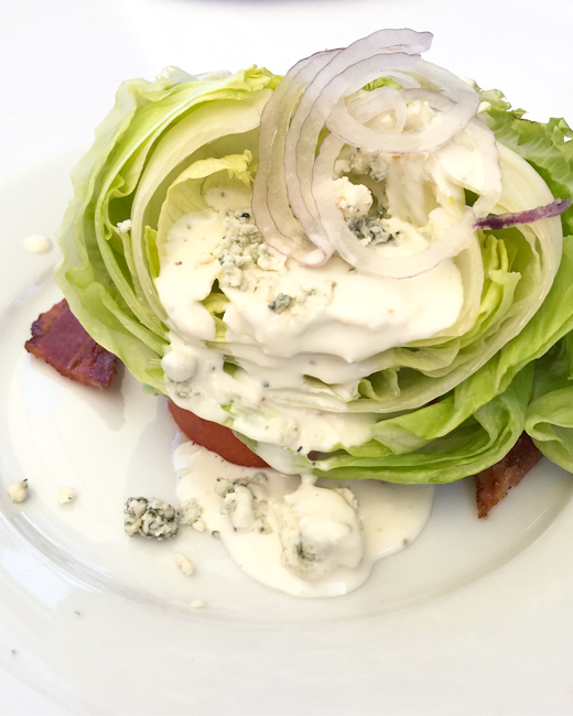Wedge Salad, Spaghettini Seal Beach | ShesCookin.com
