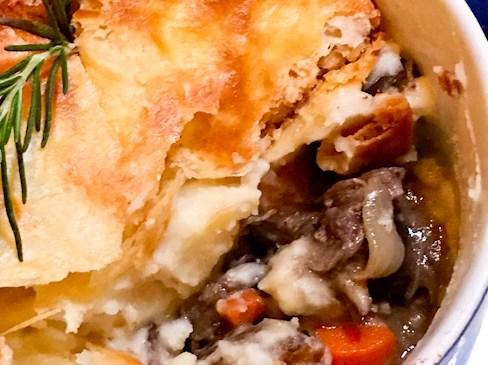 Short Rib Pot Pie, SeaLegs   ShesCookin.com