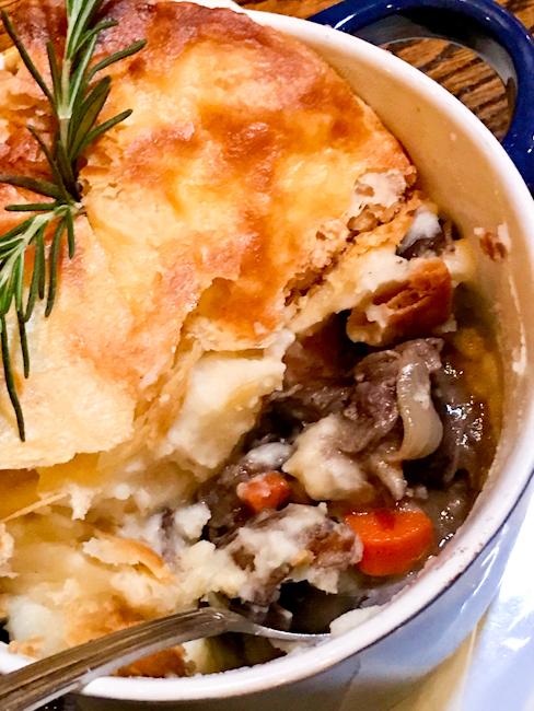 Short Rib Pot Pie, SeaLegs | ShesCookin.com