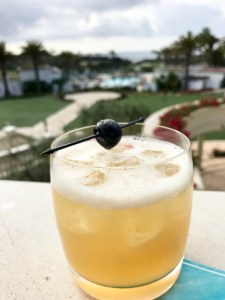 Black cherry whiskey sour, AVEO Table + Bar, Monarch Beach Resort