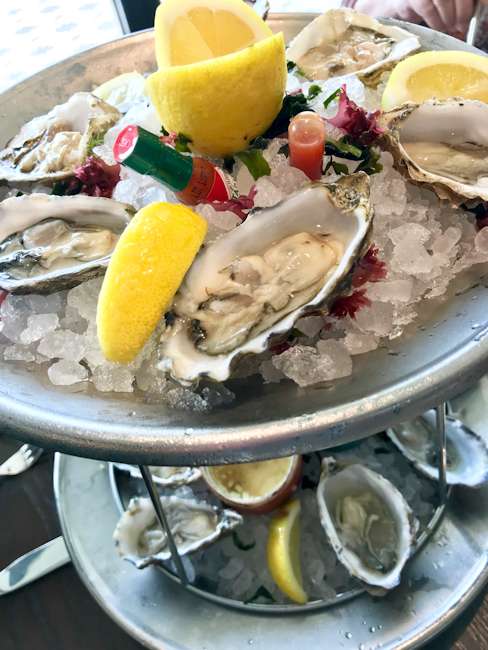 Oysters, AVEO Table + Bar, Monarch Beach Resort