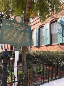 First cigar factory in Tampa's Ybor City