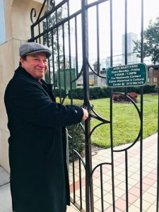 Lonnie Herman, Ybor City Historic Walking Tours