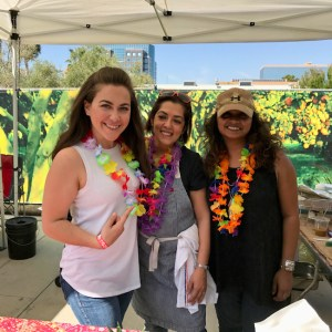 Jill Cook with Chef Shachi Mehra of Adya