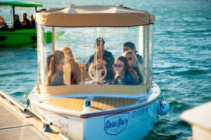 Electric Boat cruise of Newport Harbor