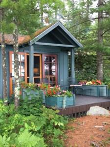Lakeside cottage at Migis Lodge