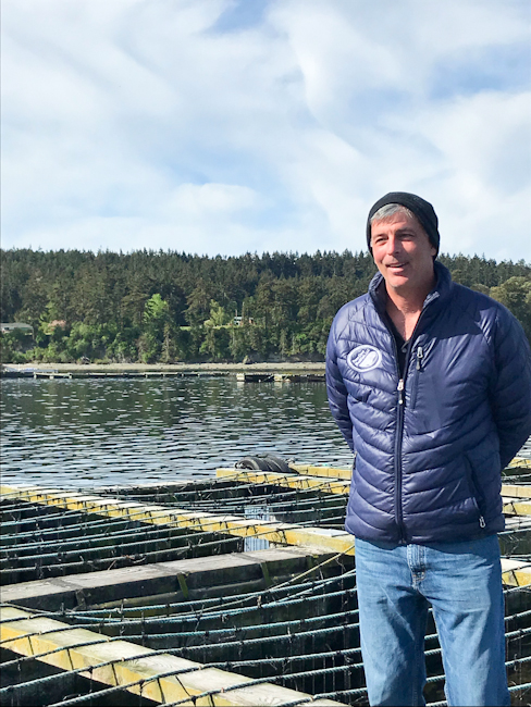 Tim Jones, Operations Manager, Penn Cove Shellfish