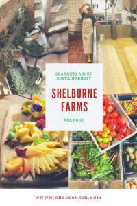 Sustainability and cheesemaking at Shelburne Farms in