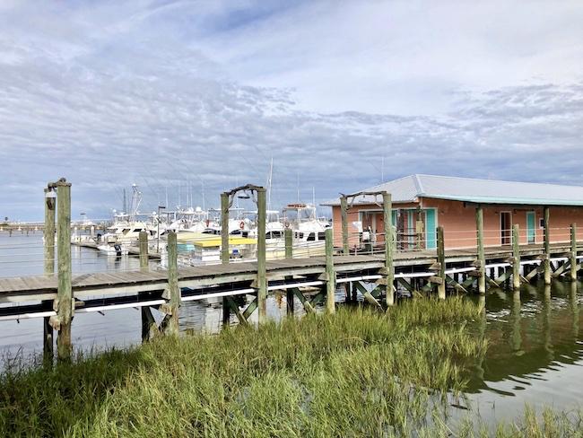 Marina view at Conch House Marina Resort