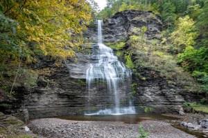waterfalls in the finger lakes region, Shequaga Falls