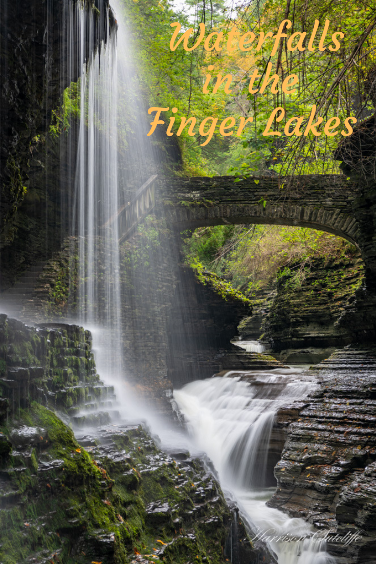 There are hundreds of spectacular waterfalls to discover in the Finger Lakes region of central New York state. #travel #NewYork #FingerLakes #waterfalls