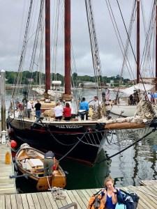 Maine food tour on the schooner JE Riggin,