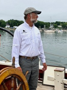 Captain Jon Finger of the Schooner J & E Riggin