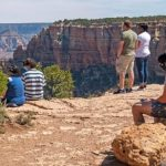 social distancing at Grand Canyon National Park