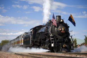 Grand Canyon Railway steam train