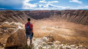 Meteor Crater, Flagstaff, Arizona