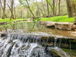 Waterfall at Dogwood Canyon