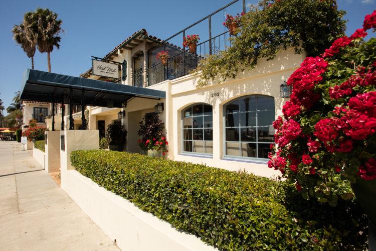 Hotel Milo exterior, Santa Barbara