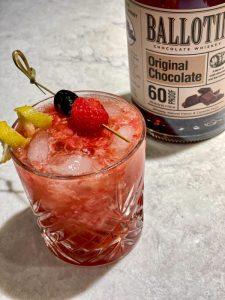 Ballotin Raspberry Chocolate cocktail