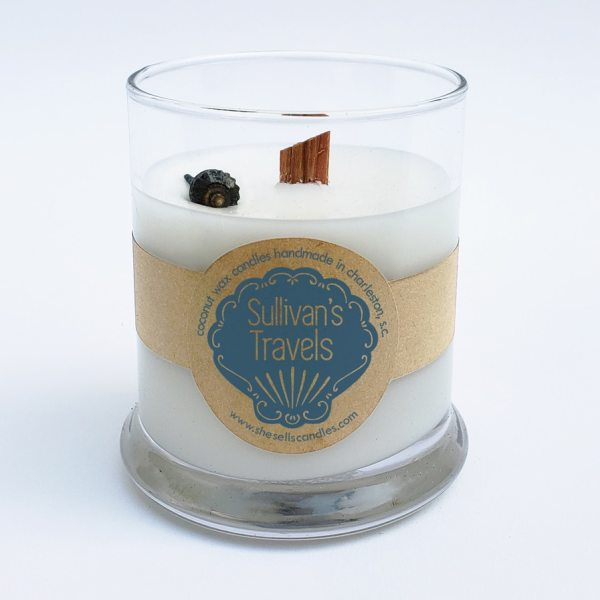 Scented Candle - Carnation, Lily, Crisp White Grapefruit Blended with Jasmine & Tuberose