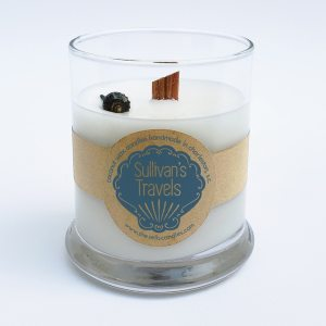 Scented Candle - Carnation, Lily, Crisp White Grapefruit Blended with Jasmine & Tuberose